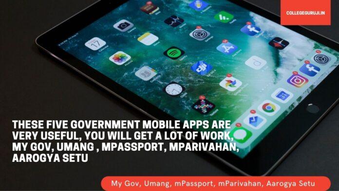 top 5 govt apps