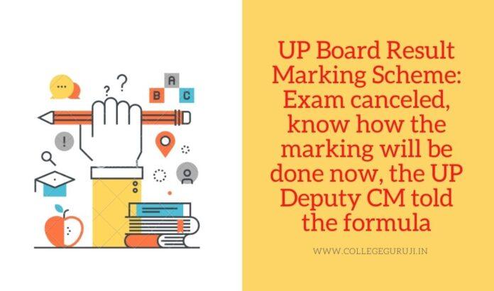 up board result marking scheme 2021