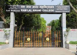 Ram Lal Anand College (DU) [0709]